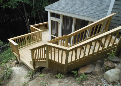 Armstrong Deck, stairs & Screen Porch