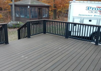 West Trex Deck After